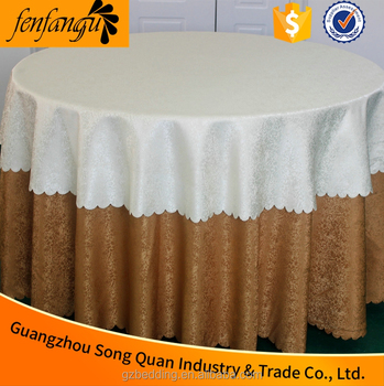 100% Cotton Hotel Table Cloth , Table Linen Factory,tablecloth White  Disposable Waterproof