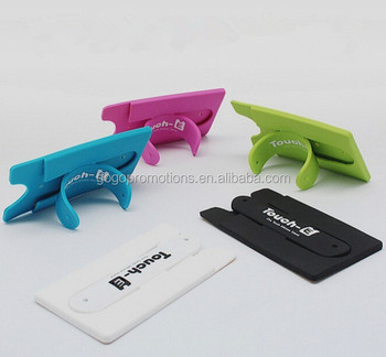 Promotional Gifts Silicone Name Card Holder Pvc Bulk Business Holders