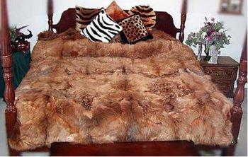 Peru Baby Alpaca Rug Or Bedspread 82x74 Inches