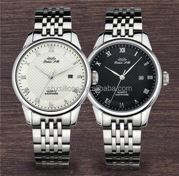 High-quality custom brand day/date top 10 luxury watch brands with different bands