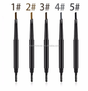 makeup auto double ends eyebrow pencil for eyebrow with brush