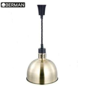 Banquet furniture stainless steel kitchen display warmer food heat lamp/food warming lamp