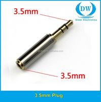 3.5 mm phone jack 3.5mm 4-pole audio plug 3.5mm stereo plug audio adaptor