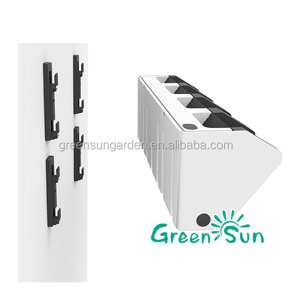 vertikalen garten system blumentopf wandhalterung gr ne. Black Bedroom Furniture Sets. Home Design Ideas