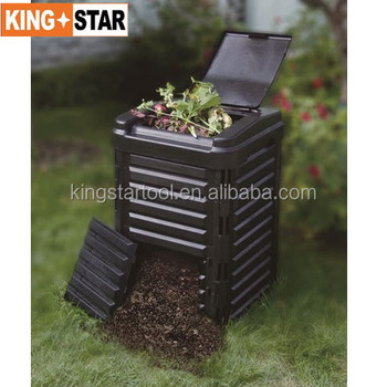 65 Gallon Heavy Duty Outdoor Compost Bin