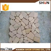 Selling marble scrap, Yellow sandstone mosaic tile, Cobblestone paving tile