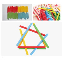 Math Toys Montessori Kids Educational Aids Tool Math Learning Toys