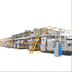 High speed corrugated cardboard making machine price/corrugated carton packaging machine