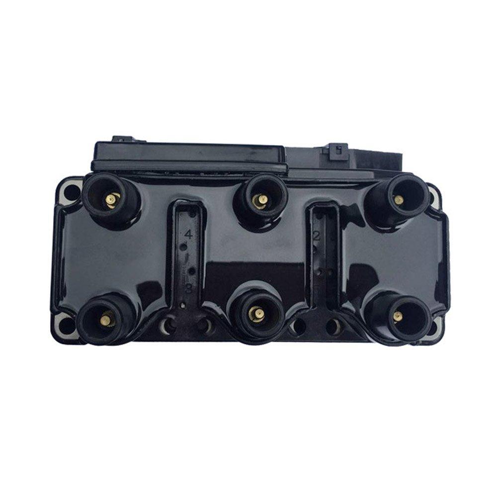 Get Quotations · DRIVESTAR 021905106 New Ignition Coil fits Golf EuroVan  Jetta 2.8L V6 93-00 VW
