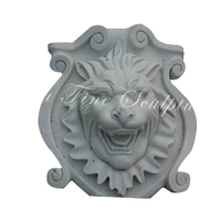 Indoor Decoration white marble wall relief sculpture