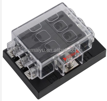 blade fuse box 6 way fuse block holder box suits auto blade fuses buy blade  6 way fuse block holder box suits auto