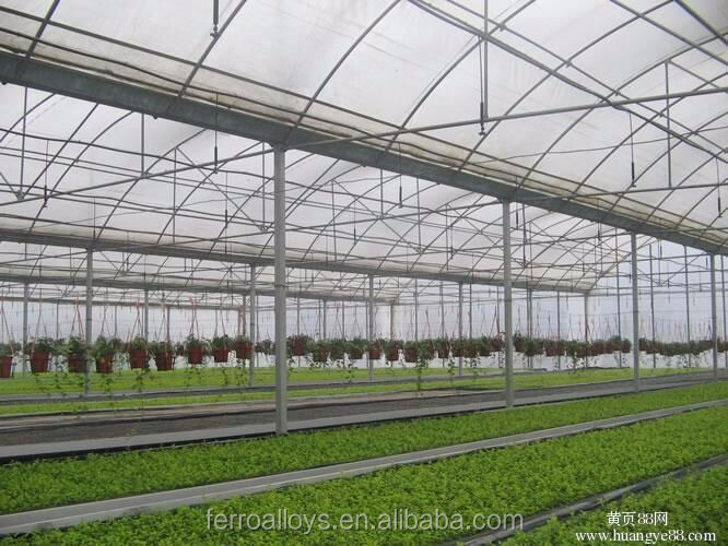 The Cheapest Hot sale and Easily Installed Multispan Film Greenhouse/Large Film Agricultural Greenhouses