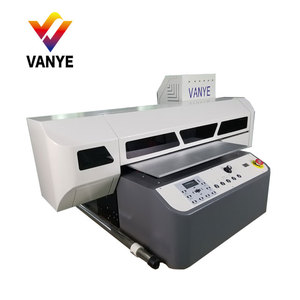 China Supplier Direct Image sticker logo uv machine/id card led flatbed printer /digital printing