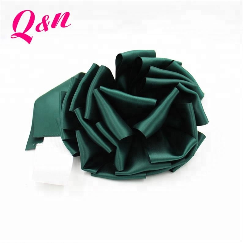 Hot sale elastic loop ribbon bow gift wrapping elastic band bow for gift box