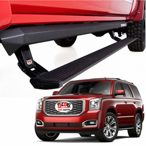High Quality Automatic Side Step Retractable Running Boards For Chevrolet Tahoe 2015-2018