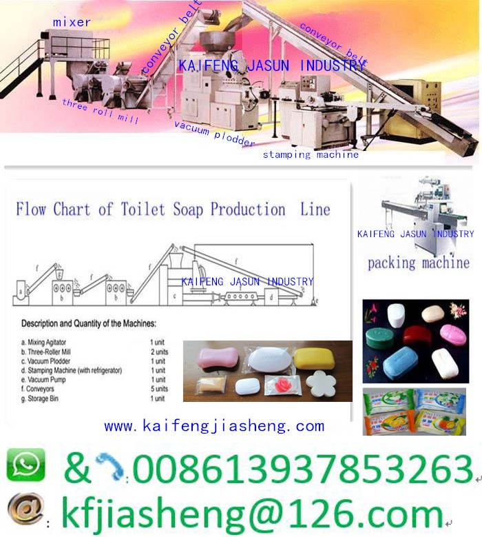 mini small toilet laundry bar soap production line
