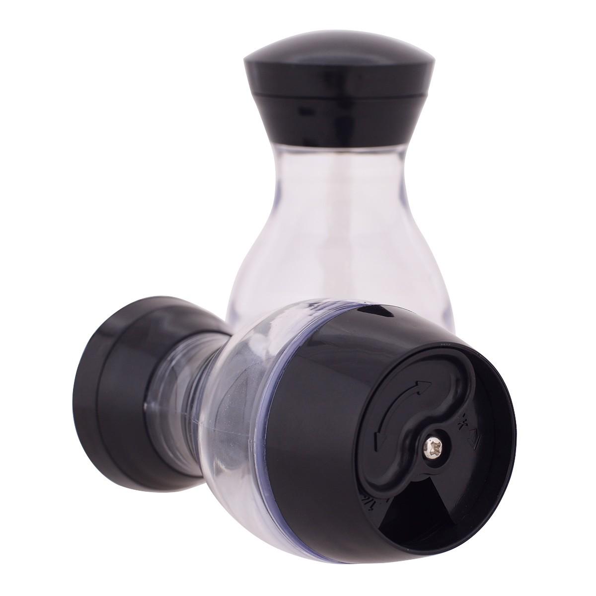 Présentoir à épices rotatif 16 pots verre  Couvercle Métal  Support Inox  Herbes