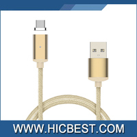 Best selling Fast connect Magnetic Micro Usb data Cable Magnetic Charging Cable Magnet USB C Cable For Iphone