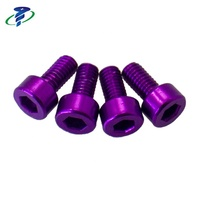 High Quality M4 Anodized Aluminum Socket Head Cap Screw