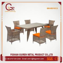 New Design Nice-Looking plastic rattan table