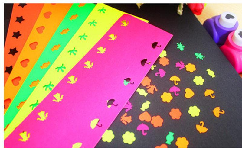 Fancy custom decorative metal kids mini craft paper die punch cutter craft paper punch