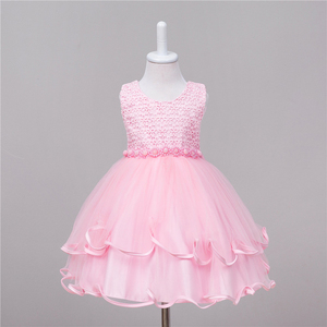 Wholesale children boutique clothing girls casual dresses kids simple frock design