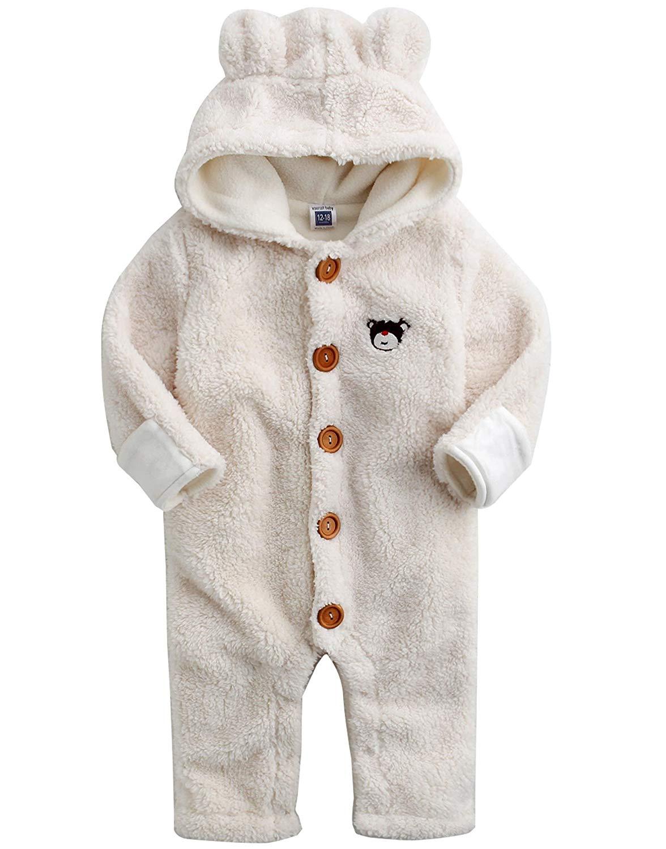 a05b979904a7 Buy Vaenait Baby 6-24M Boys Winter Hoodie Snowsuit Outwear Jumsuit ...