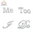 """I Do"" Wedding Rhinestone Stickers For Shoes Factory Wholesale"