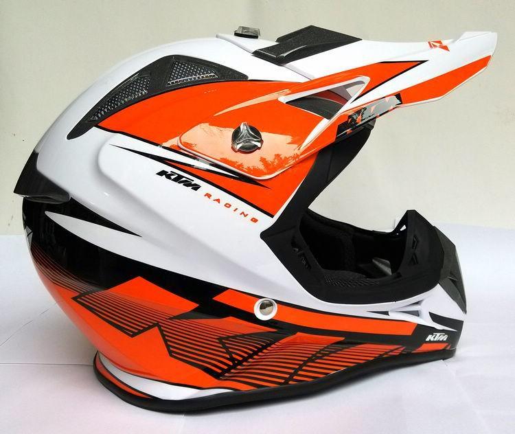 casco ktm helmet moto casque helm motocross enduro cross quad trial mtb mx ebay. Black Bedroom Furniture Sets. Home Design Ideas