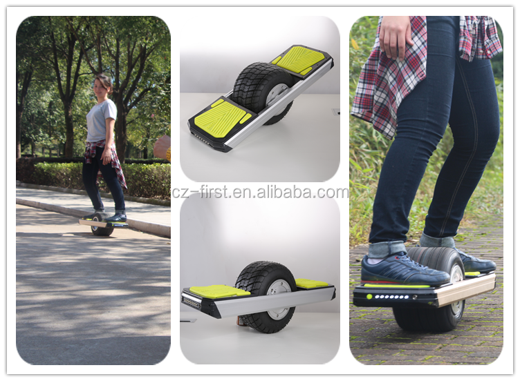2016 Hot Sale Off-Road Smart Balance Wheel One Wheel Smart Self Balance Wheel TROTTER