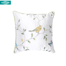 Brand new bird Design Cushion Cover Embroidered Cushion Covers Back Support Cushion