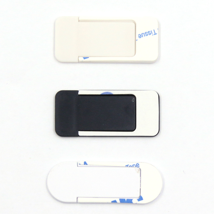 2018 hot selling mobile removable white pc computer webcam cover slide