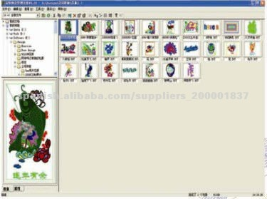 Richpeace Embroidery Design System Compatible embroidery machine