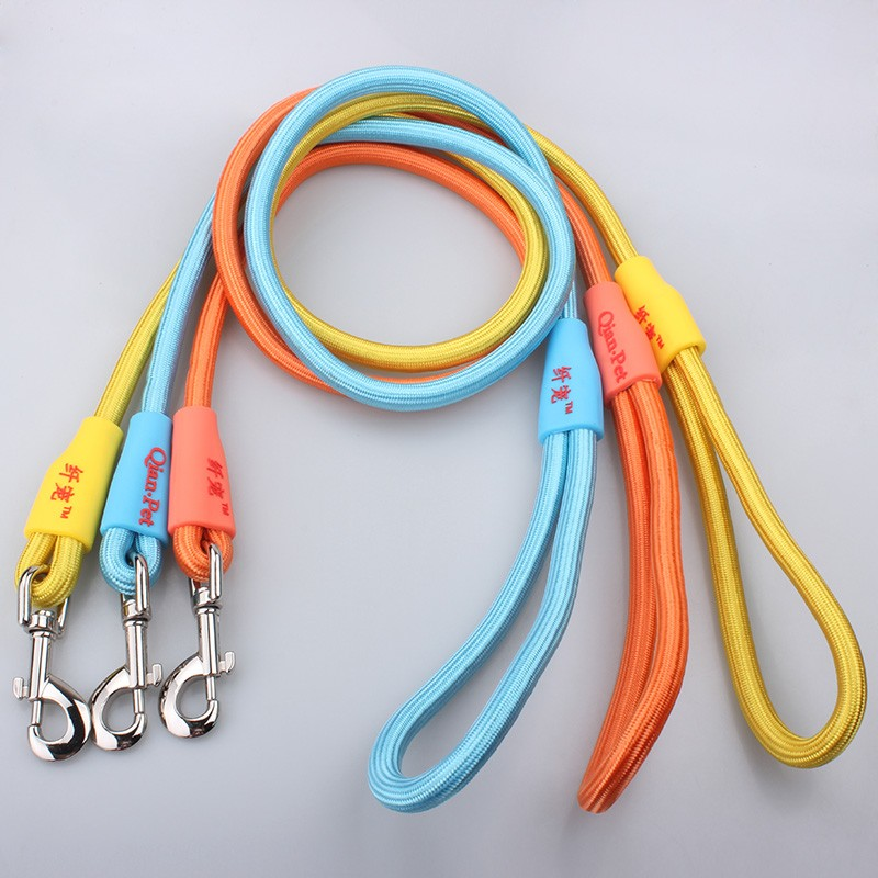 Fashion Pet Products Durable Nylon Rope Custom Logo Innovative Dog Training Leash