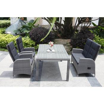 Außen Aluminium Rattan Tisch Stuhl Garten Set Buy Creme Rattan