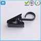 Black Stainless Steel Window Curtain Hook Metal Rings Clips With Eyelets