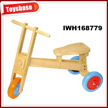 Four wheel toy bicycle