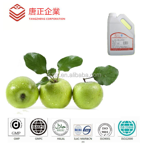 New Arrival Wholesale Green Apple Essence / Fresh Green Apple Flavour