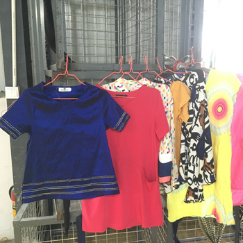 High Quality Fashion Ladies Cotton Blouse All Kinds Of Used Clothing