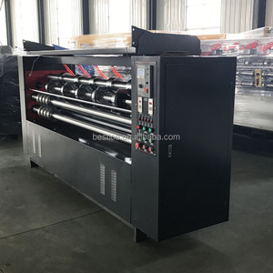 Auto Beer Carton Corrugated Cardboard Thin Blade Cutting Scoring Machine
