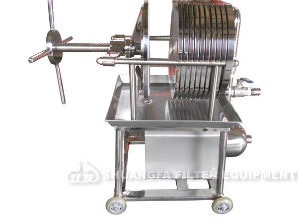 Food standard small filter press oil filter press machine for Food bar press machine
