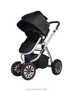 Ibear 3 in 1go deluxe baby stroller AB-904B one big wheel one small wheel