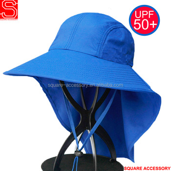 UV Protection Fishing Hiking Neck Cover Bucket Hats Neck Shade Hat Cap  Outdoor Sun Flap Bucket a65694b27af