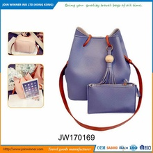 Trade Assurance Supplier Luxury Leather Tote Bag For Factory Direct Sales