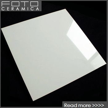 Foshan Foto Porcelain Glossy White Tile Floor Made In China