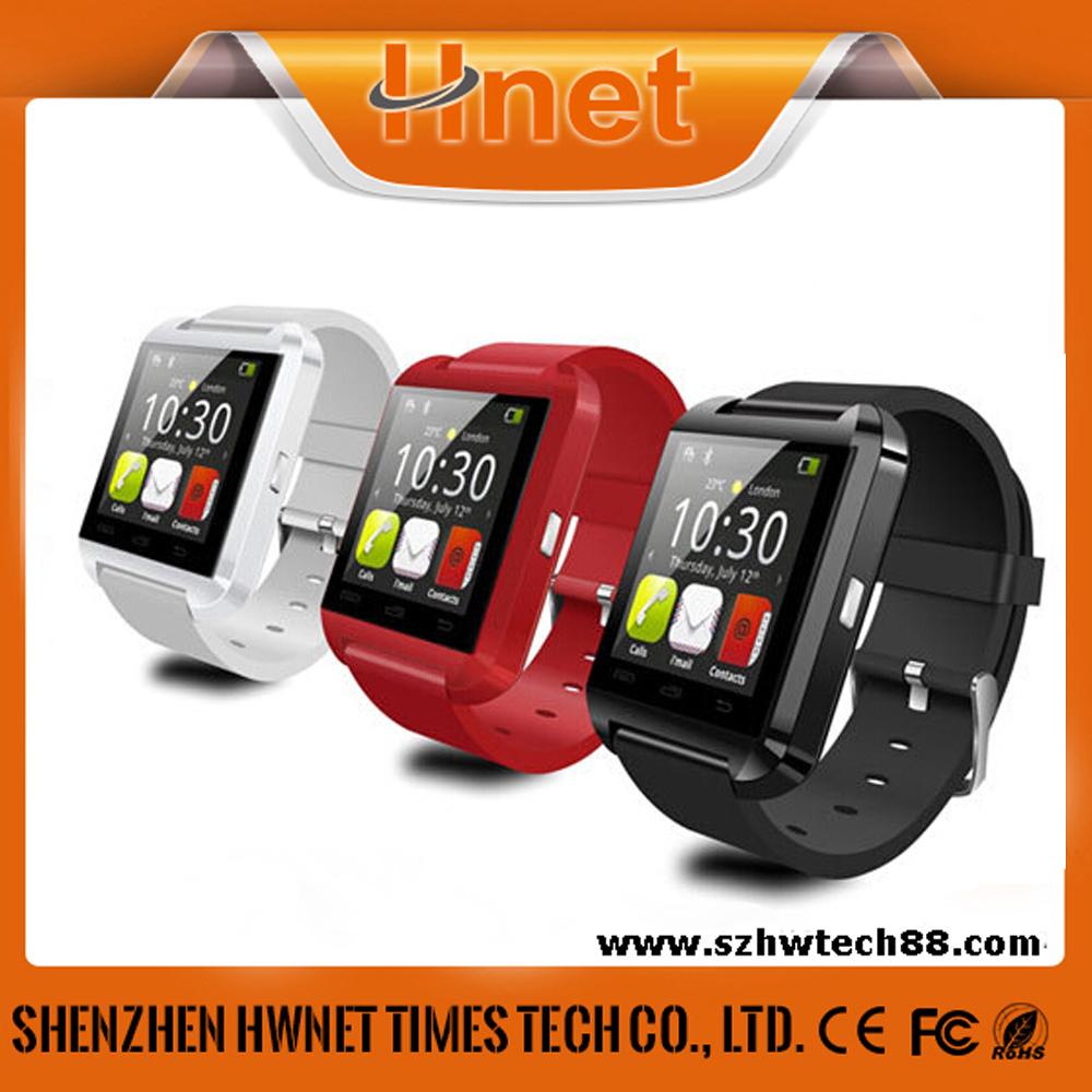 0e457e0df99 Preto quente por atacado relógio Inteligente U8 Bluetooth Relógio de Pulso  Do Telefone Para Samsung
