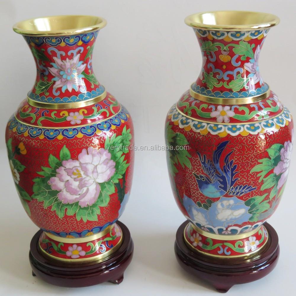 Handmade Cloisonne Chinese Vases Buy Chinese Vase Cloisonne Chinese Vases Copper Decorative
