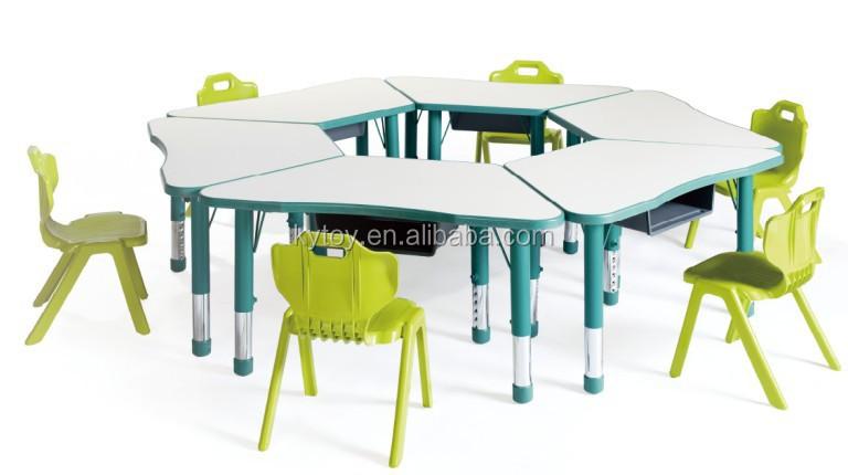 Tavoli Scuola Materna Aula Mobili In Legno Per Bambini