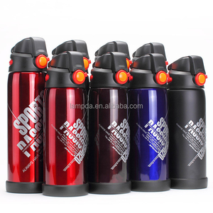Eco friendly bicycle sports self cooling thermos bottle cooler thermal vacuum flask
