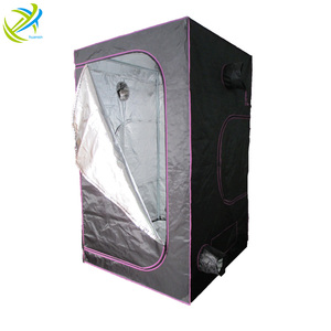 Complete Indoor Box Hydroponics 600D / 1680D Mylar Plant Grow Tent Fabric